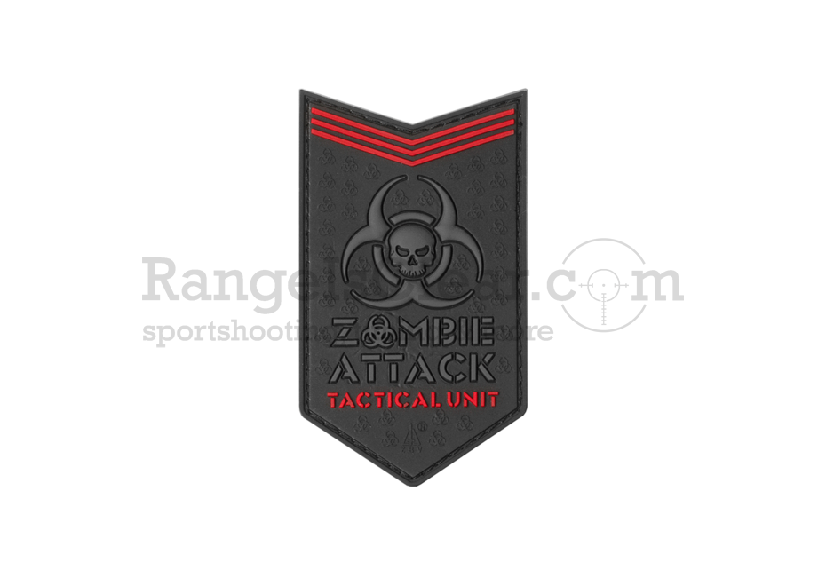 JTG Zombie Attack Rubber Patch - BlackOps