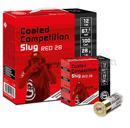 Geco Coated Competition Slug Red 28g 12/67,5