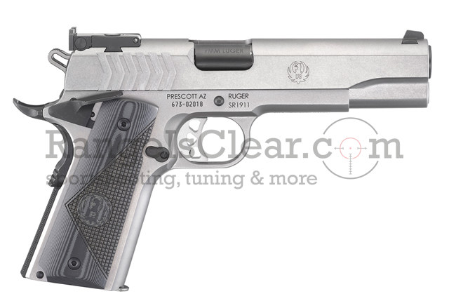 Ruger SR 1911 Target Stainless - 9x19