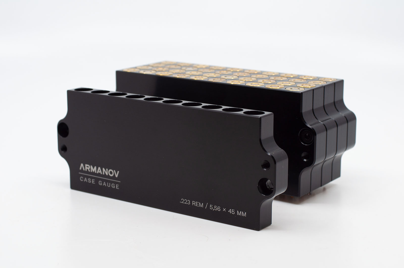 Armanov Case Gauge .223 Rem 10rds Stackable