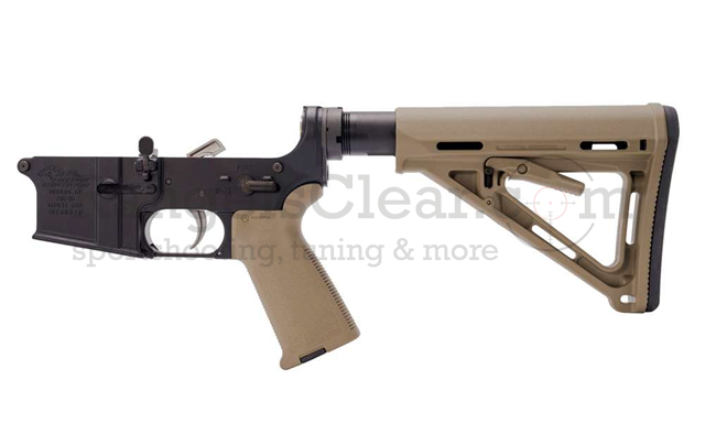 Anderson Arms AR15 Lower FDE Magpul complete