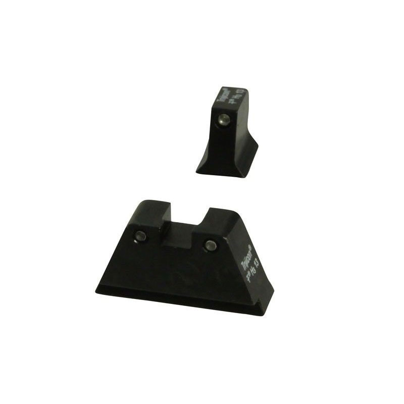 Trijicon Glock 17-39 NV Supressor Sights Green Dot