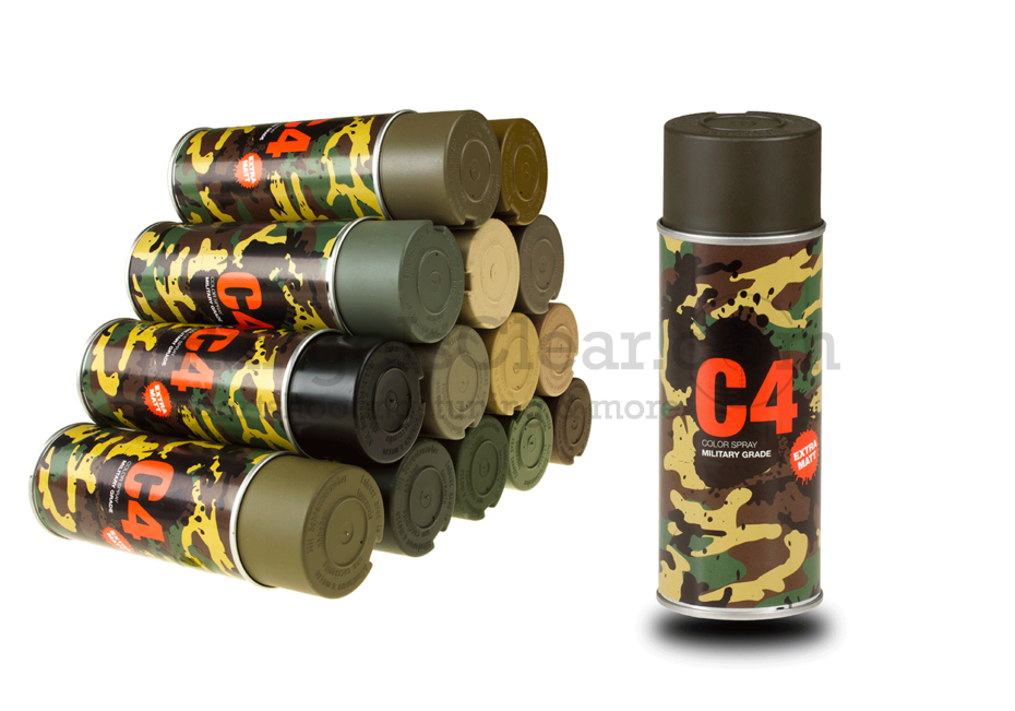 C4 Mil Grade Color Spray RAL 6014