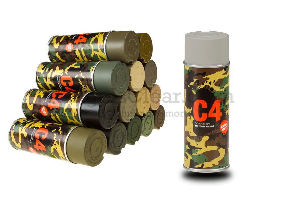 C4 Mil Grade Color Spray RAL 7030