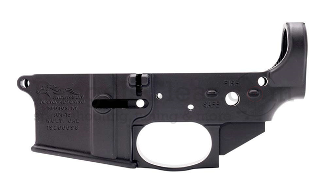 Anderson Arms AR15 Lower Closed Stripped