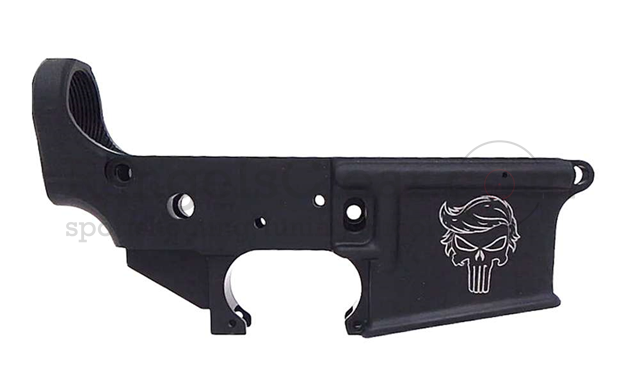 "Anderson Arms AR15 Lower Open Stripped ""TRUMP"""
