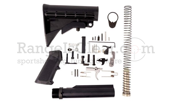 Anderson Arms AR15 Lower Kit MIL-SPEC