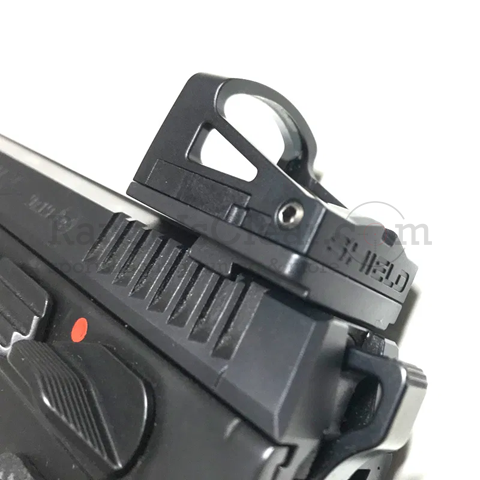 CZ Shadow 2 / SP-01 Rear Sight Cut Mount Shield