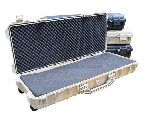"CED Waterproof PCC/Rifle Case with Weels 39"" TAN"