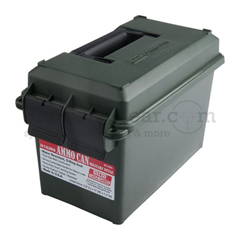 MTM Military Style Ammo Can green #AC50C11