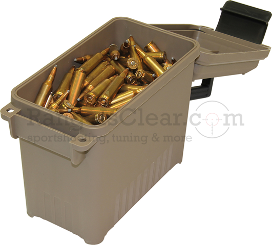 MTM Ammo Can Mini Dark Earth #AC15-72