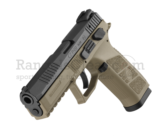 CZ P-09 Tactical FDE 9x19 Decocking + Safety