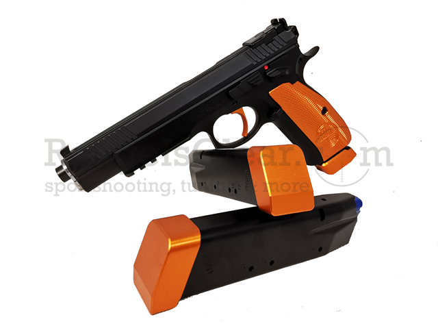 "CZ 75 Taipan ORANGE 9x19 - 6"" Single Action"