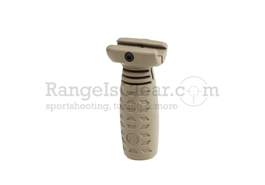 CAA Short Vertical Grip Picatinny - TAN
