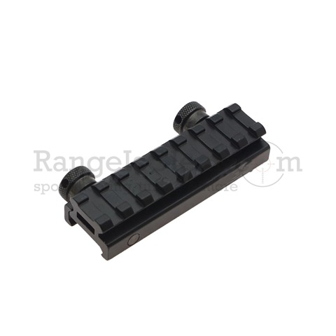 AR Flat-Top 8 Slot Riser Picatinny Rail - H 13mm