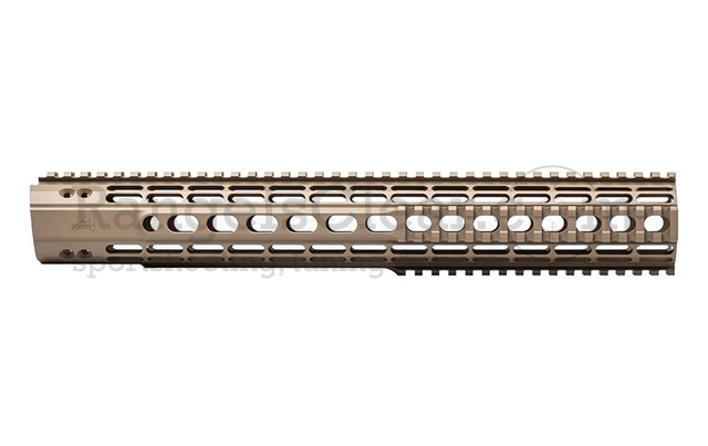 "Aero Precision Enhanced Quad Rail Gen 2 15"" FDE"
