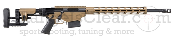 "Ruger Precision Rifle .308 Win. 20"" Flat Brown"