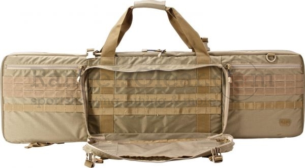 "5.11 Double Rifle Case 42"" sandstone"