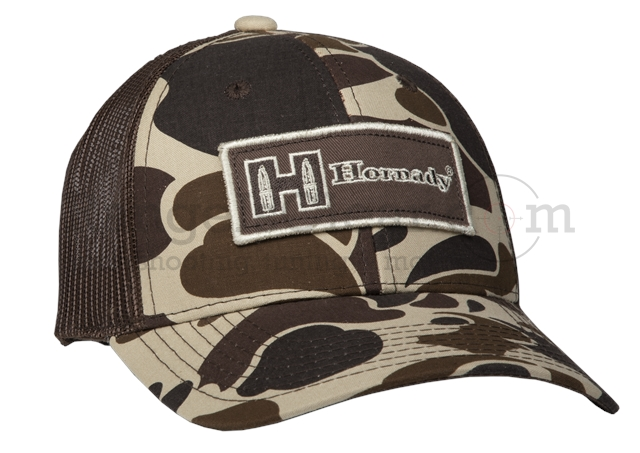 Hornady Cap Brown / Tan Camouflage