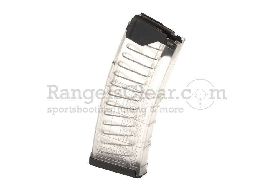 Lancer AR-15 L5AWM Transparent Mag 10rds