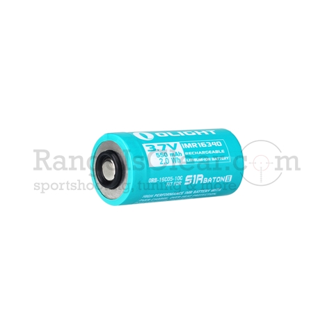 Olight Battery IMR16340 for S1R Baton II - 550 mAh