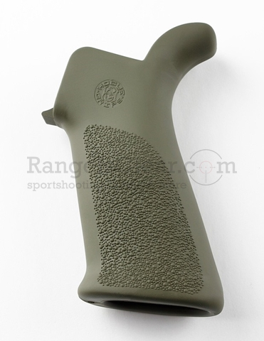 Hogue AR-15 Pistol Grip Rubber OD no Grooves