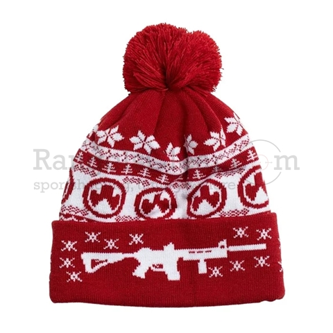 MagPul Ugly Christmas Beanie Red