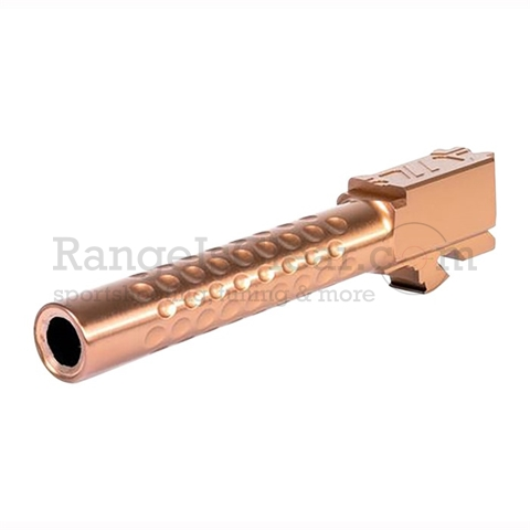 ZEV Optimized Match Barrel Glock 17 Gen 5 Bronze