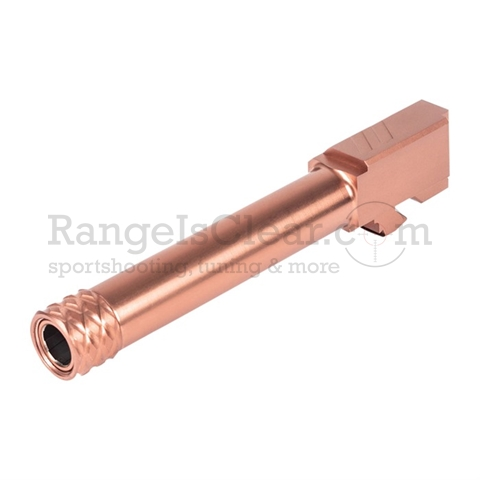 "ZEV Pro Match Barrel Glock 19 Bronze - 1/2""x28"
