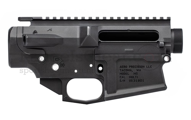 Aero Precision M5 (.308) Receiver Set Stripped BLK